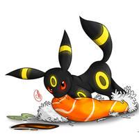 Pokemon Sushi Umbreon Roll
