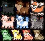Cat Adoptable Batch [2/10 OPEN]