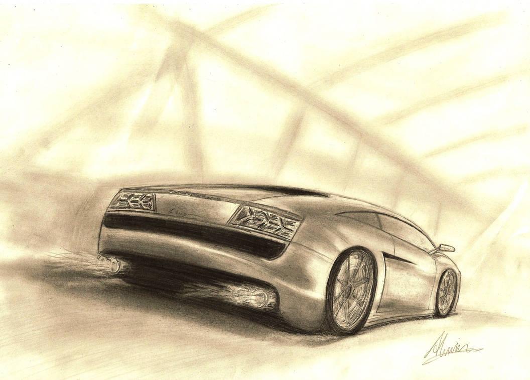 Lamborghini gallardo by alwintheboy