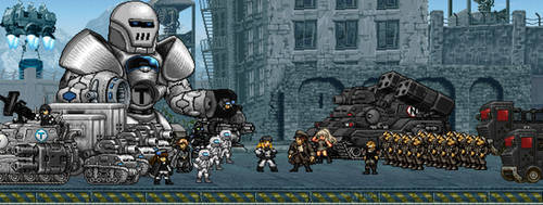 Nightterror Army and Soviet PM Army The Farewell by nightterror599