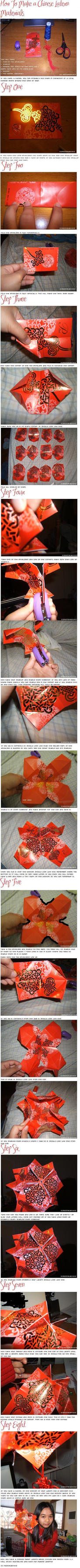 How To Make a Chinese Latern by missykathyx3