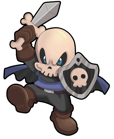 [Starmine] Battle of the Mystics Pt. 1 Chibi_skull_knight_by_pergoli-d3nsjlf