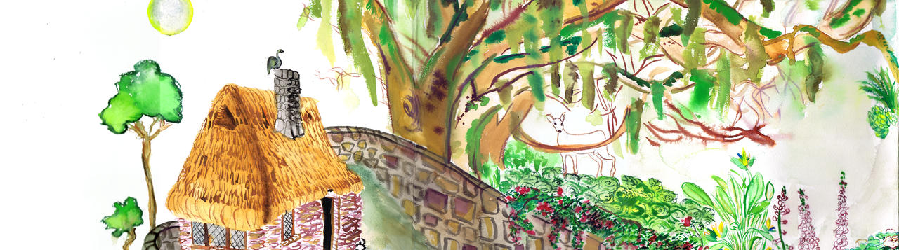 rapunzel setting detail by naomese