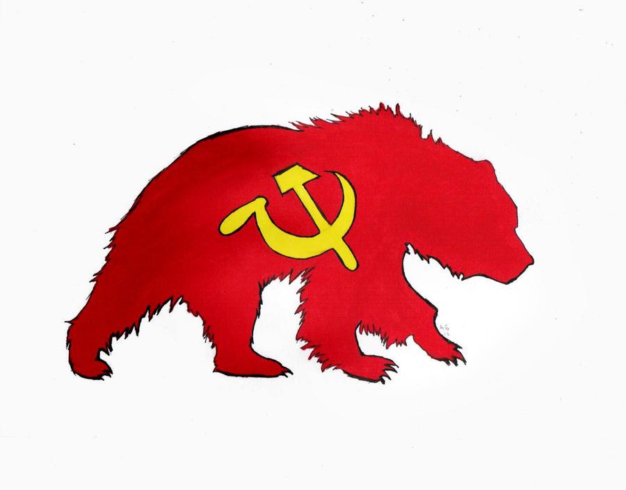 Communist bear by DJSIC