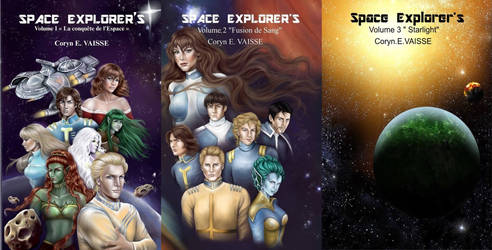 TRILOGY Space Explorer's by EcorynV