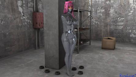 Karin Mummified by Ropelover-Art