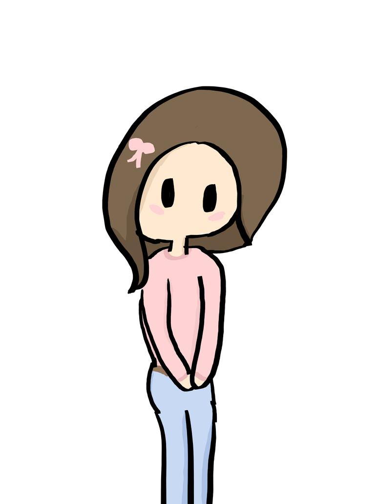 Cute lil girl by alliemews