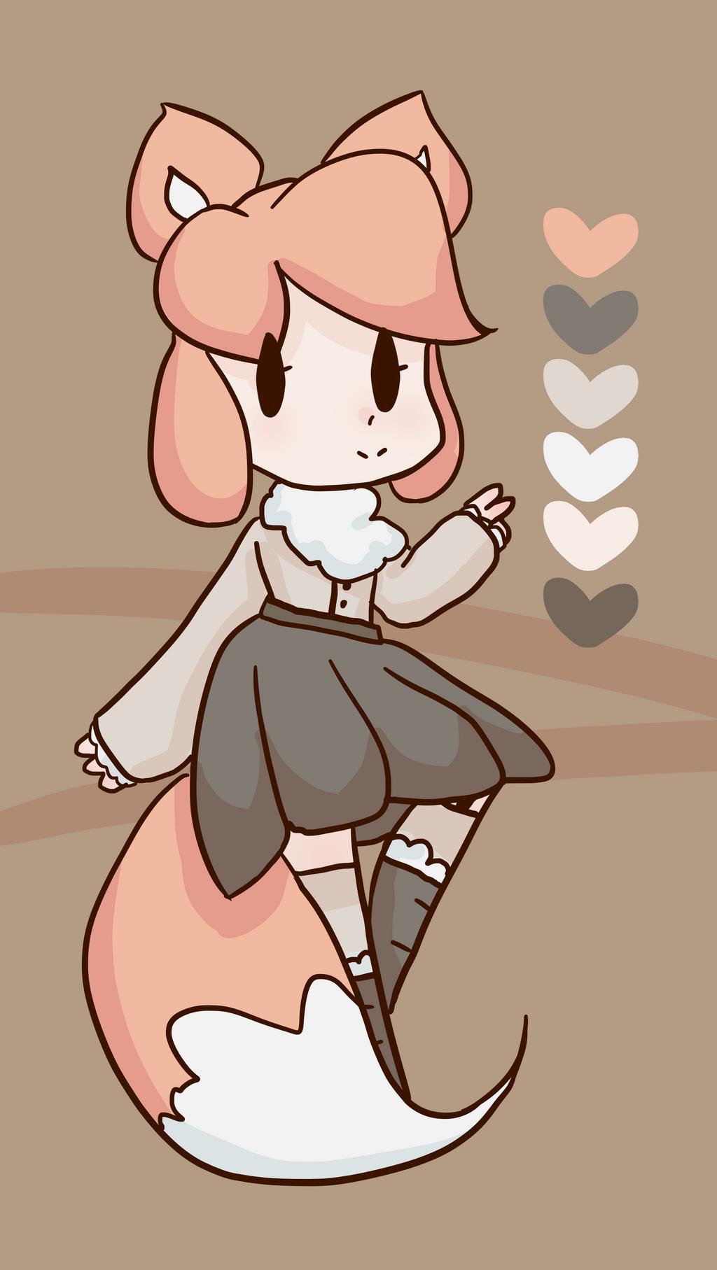 Snowy Fox Kemonomimi [OTA] [CLOSED] by alliemews