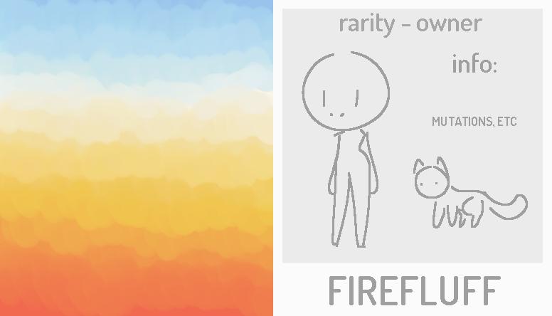 Gacha - (CLOSED SPECIES) Firefluffs! [OPEN] by alliemews
