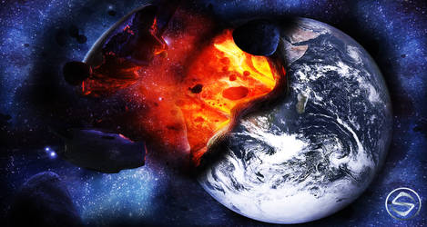 Destroyed Earth