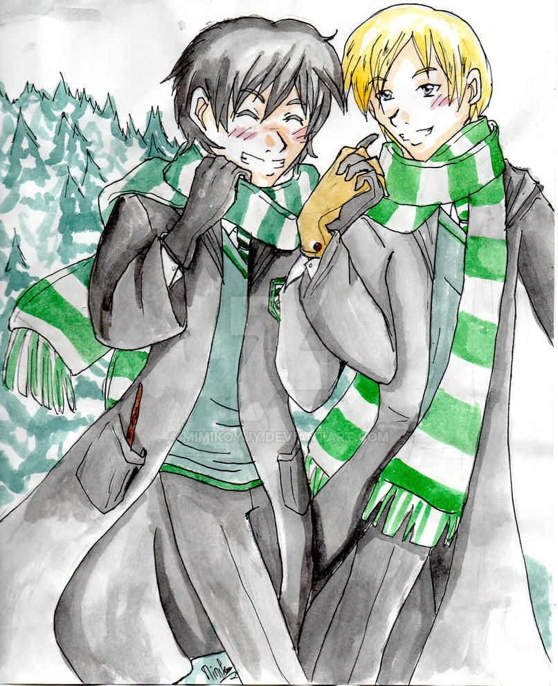 Harry Potter_Albus et Scorpius by mimikoyuy
