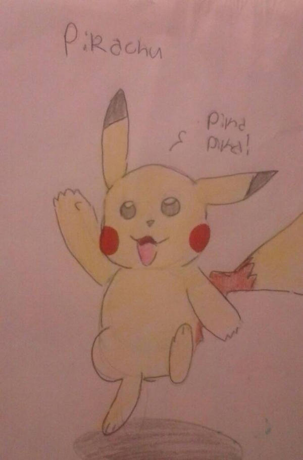 A Pikachu drawing  by davelovergirlsonic