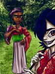 Noodle and Octavius by Ginger-Root