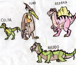 Assorted Land Before Time OCs