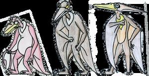 Pterano, Rinkus and Sierra