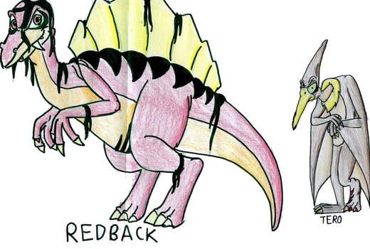 Redback and Tero