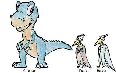 Chomper, Petrie and Harper
