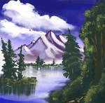 Mountain Summit by fimoman