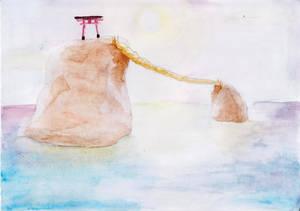 Meoto Iwa- The Wedded Rocks
