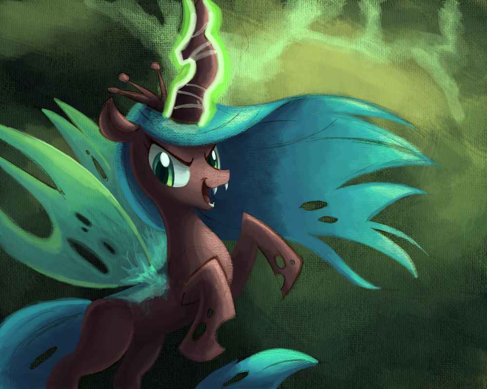 Queen Chrysalis by Ric-M