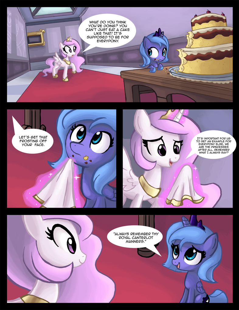 Filly Luna Eats Cake pt. 2 by Ric-M