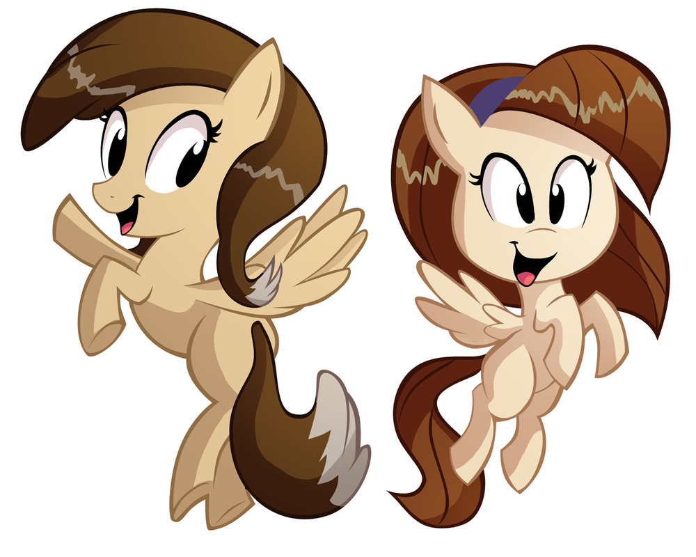 Sammy and Maggie Ponified by Ric-M