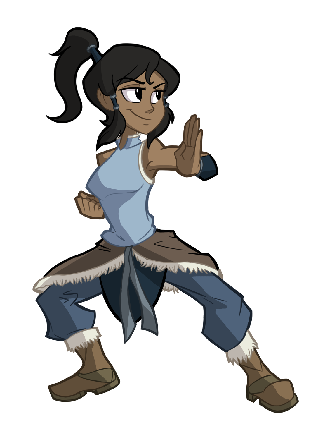 Day 11- Korra by Ric-M