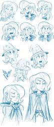 Trixie Sketchdump by Ric-M