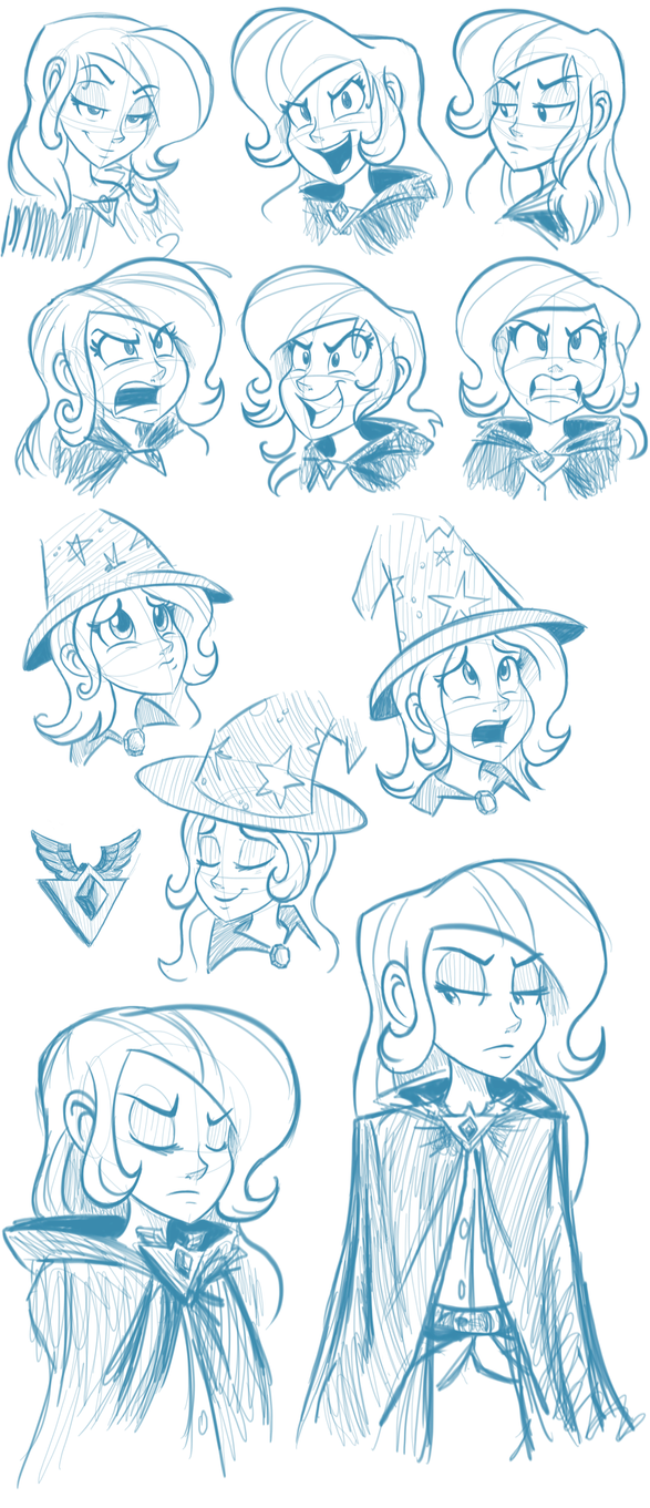 Trixie Sketchdump by Ric-M