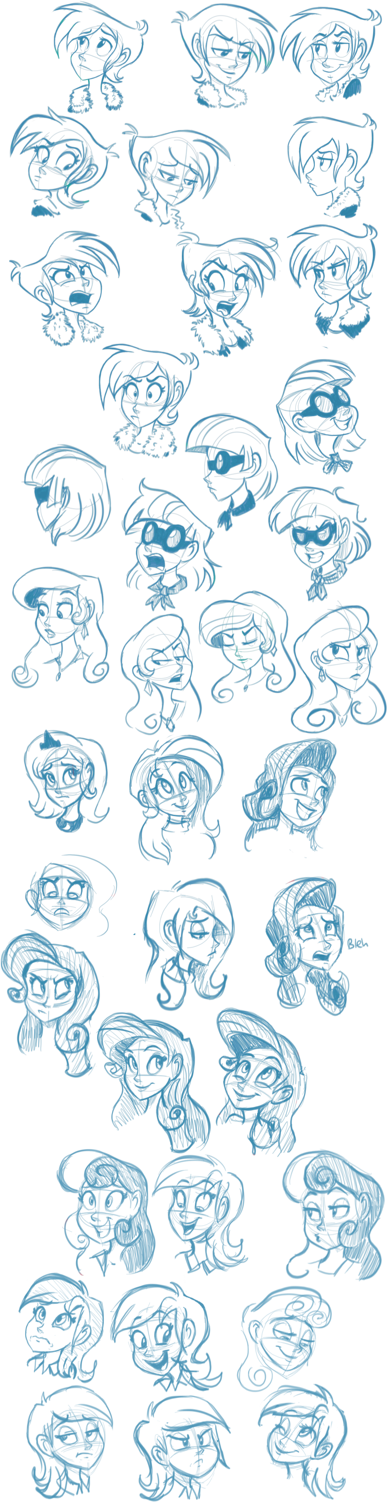 Another Pony Expressions Dump by Ric-M