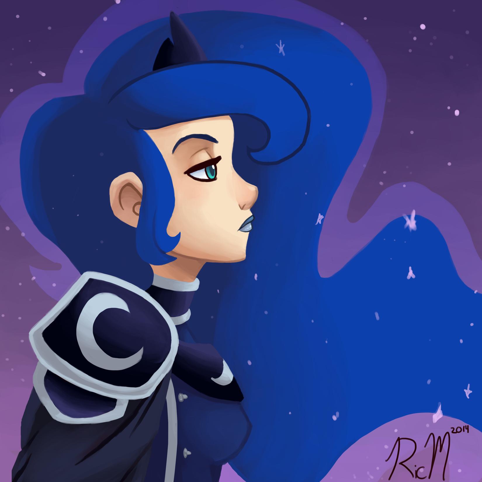 Princess Luna by Ric-M on DeviantArt