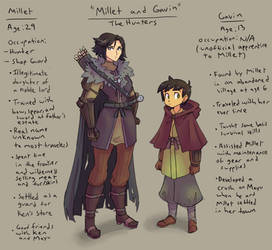 Millet and Gavin- the Hunters Concept by Ric-M