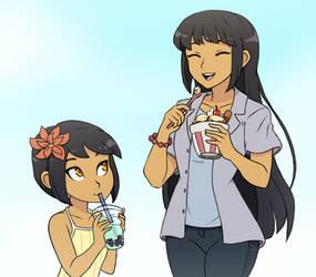 Summertime Fuyuko and Mayu