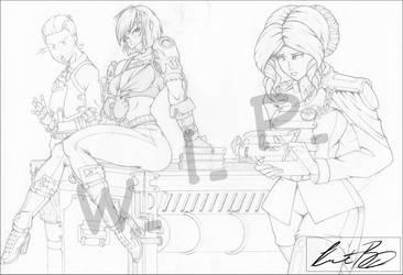Steampunk Crew - Mechanical Pencil