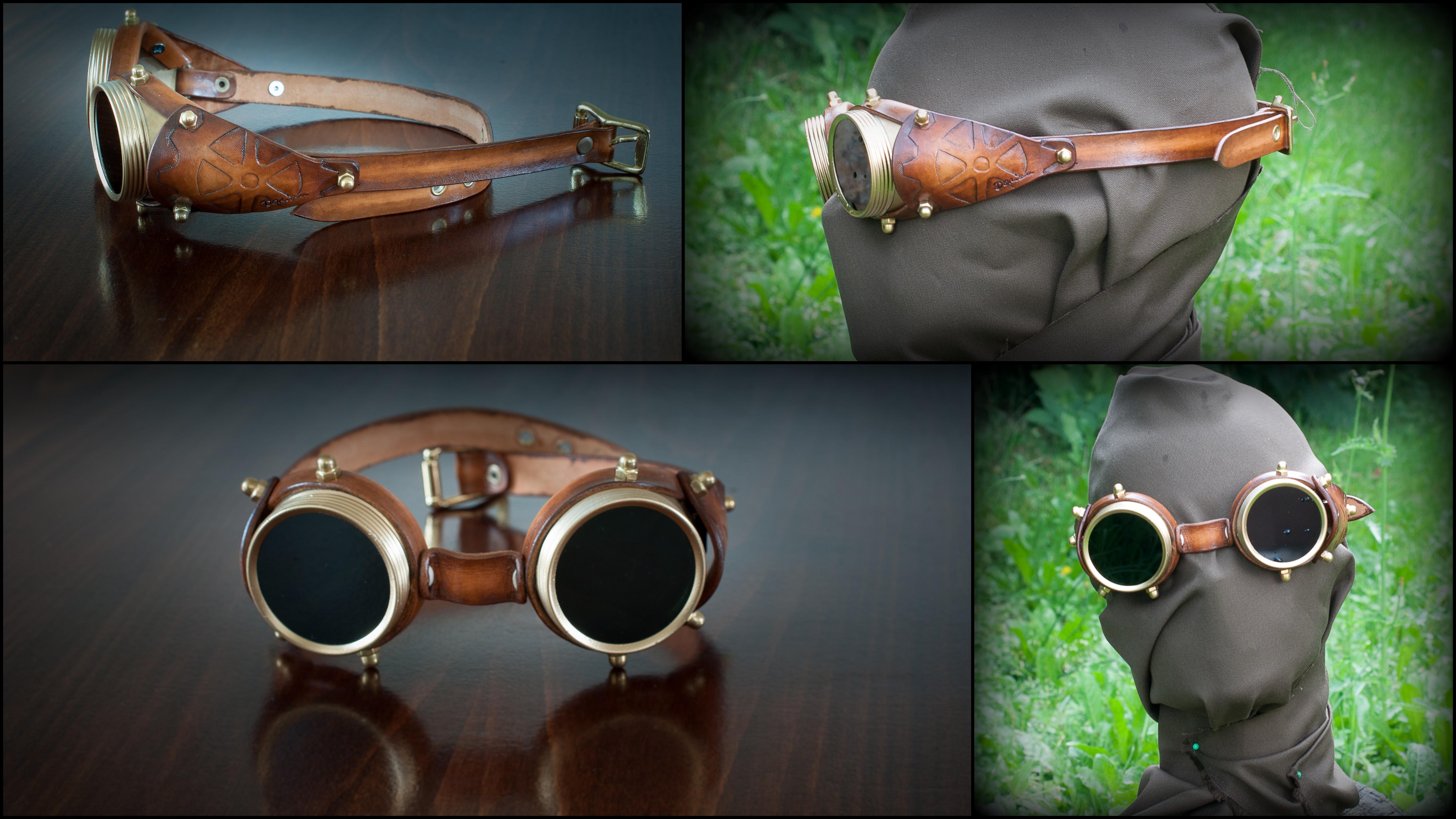 Steampunk очки своими руками 35