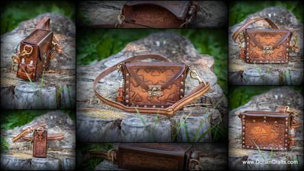 Steampunk themed bag.