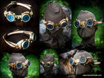 BrassGear Goggles
