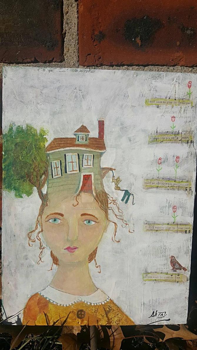 The Housewife by goshdarnart