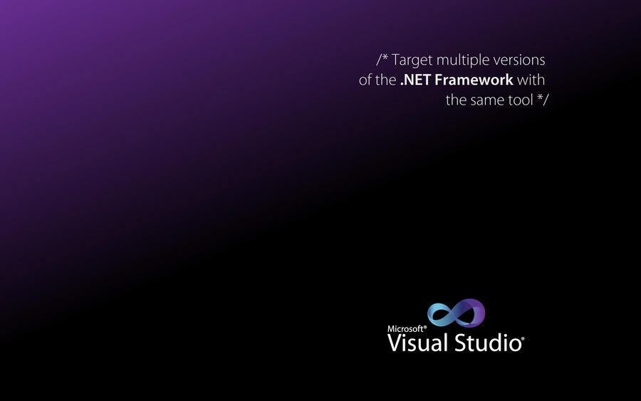 Visual Studio Wallpaper 01 By Shaikhjee