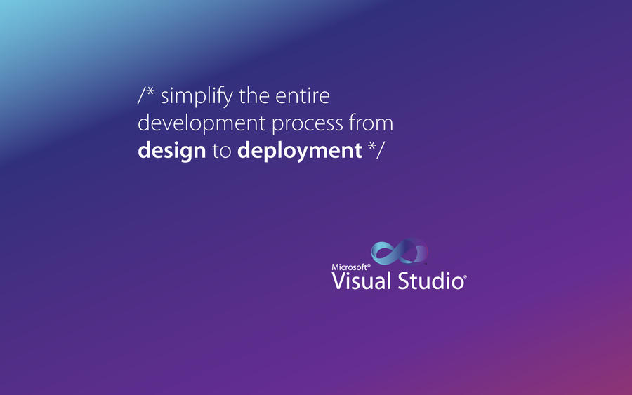 Visual Studio Wallpaper 06 By Shaikhjee