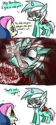 MLP : Lyra's cool pet by howzih