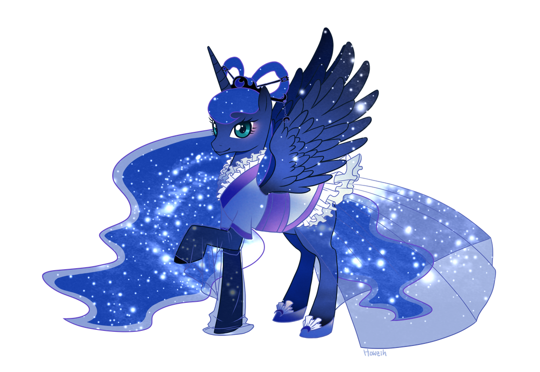 MLP Change Luna By Howzih On DeviantArt