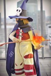 Wizardmon (Digimon) - Fire Attack by NekoBlablaa