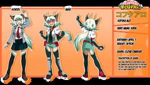 BNHA - Kofuku Alo Character Sheet by NekoBlablaa