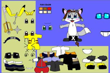 Fox dressup screenshot - vappy by chocovul7