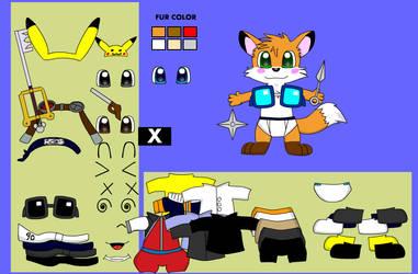 Foxdressup screenshot - Kilala by chocovul7