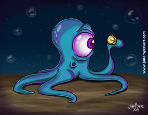Space Octopus creature