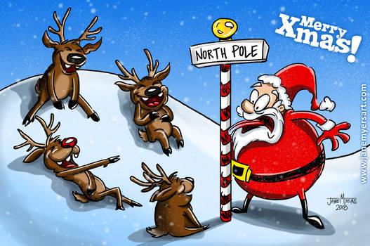 Santa lost a bet