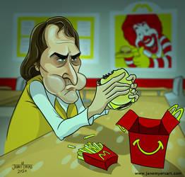 Joker at Mcdonalds