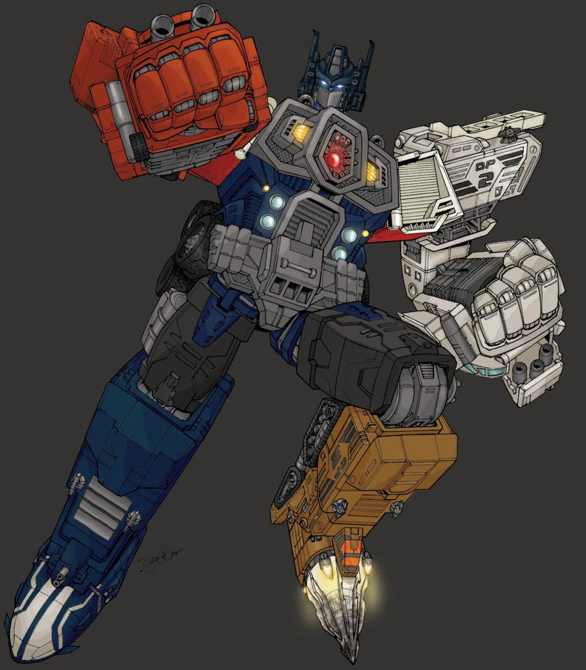 Energon Optimus Prime, Super Mode by RoadbusterDoM